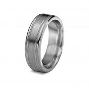 Scott Kay Ring Prime 7mm Milgrain Cobalt Wedding Band