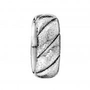 Scott Kay Ring Braid 9mm Hammered Cobalt Ring